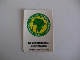 Football Futebol World Cup USA 94 The African Football Confederation Portugal Portuguese Pocket Calendar 1994 - Calendari