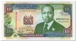 KENYA,10 SHILLINGS,1991,P.24c,UNC - Kenia