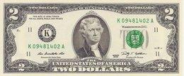 USA  2 Dollars  2009  UNC - Biljetten Van De  Federal Reserve (1928-...)