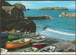 The Harbour, Mullion, Cornwall, C.1970s - John Hinde Postcard - England