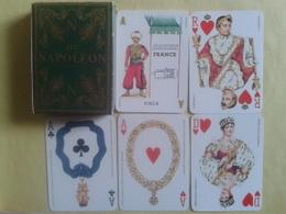 N.   Jeu De Cartes NAPOLEON. 52 Cartes + 2 Jokers. Usagé Sans étui. Année 1969 - 54 Cartes