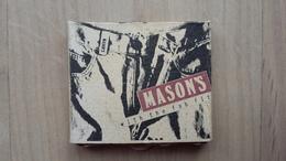 Zündholzschachtel Mit Jeans-Werbung (Mason's) - Zündholzschachteln