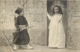 - Themes - Ref.A920 - Militaria -  Petit Zouave - Zouaves - Bonne Année 1904 - Fête - Nouvel An - Fêtes - Enfants - - Autres