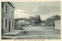 Cpa 54 Igney , Ww1 , L'église Le Café Et La Rue Repaix , Voyagée 1916 Feldpost 33° Division Réserv - Guerre 1914-18