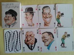 Les Géants D'un Mythe. Jeu Neuf De 54 Cartes. France Cartes 1983. Baptiste Paul Grimaud - 54 Cards