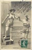 - Themes - Ref.A912 - Femmes - Baigneuses - Femme - Baigneuse - Costume De Bain - Carte Bon Etat - - Femmes