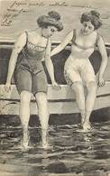 - Themes - Ref.A910 - Femmes - Baigneuses - Femme - Baigneuse - Costume De Bain - Illustrateur - Illlustrateurs - - Femmes