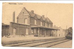 PONT à CELLES - Hainaut - La GARE (années 30) - Pont-à-Celles