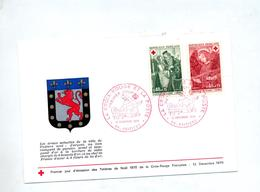 Lettre Fdc 1970 Poitiers - FDC