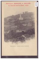 ALGERIE - PHILIPPEVILLE - PUBLICITE CHOCOLAT DEBAUVE & GALLAIS - TB - Skikda (Philippeville)