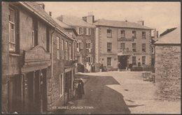 St Agnes Church Town, Cornwall, 1927 - Postcard - England
