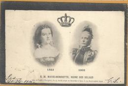 Op 433: 1853  S.M.MARIE-HENRIETTE, Reine Des Belges  1902 Née à Pesth (Hongrie) Le 23 Août 1836   Ed.Nels...Série 21 N°2 - Familles Royales