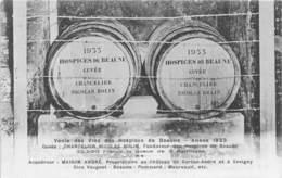 BEAUNE - Vente Des Vins Des Hospices De Beaune - Année 1933 - Beaune