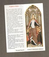 GIORNATA MISSIONARIA MONDIALE Pontificia Opera Propagazione Della Fede SANTINO - Images Religieuses