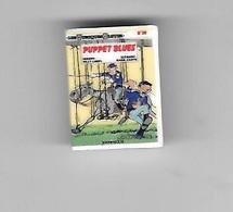 Féve  BD  LES  TUNIQUES  BLEUES, PUPPET  BLUES  Des  EDITIONS  DUPUIS   Recto  Verso - Strip
