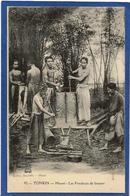 CPA TONKIN Indochine Type Non Circulé Métier Fondeurs De Bronze - Viêt-Nam