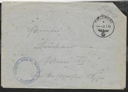 FELDPOST E - 20.07.1943  SU BUSTA - Briefe U. Dokumente