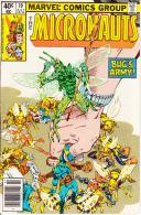 The Micronauts Vol. 1 No. 19 July 1980 Bug's Army - Marvel