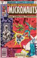 The Micronauts Vol. 1 No. 24 December 1980 When Computrex Commands - Marvel