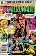 The Micronauts Vol. 1 No. 34 October 1981 Betrayal! Guest Dr, Strange - Marvel