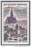 France Architecture N° 1308 ** Site - Monument - Cathédrale Et Pont De La Ville De Thann - - Eglises Et Cathédrales