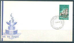 PAPUA NEW GUINEA - FDC  - 14.4.1965 - ANZAC - Yv 77 -  Lot 17698 - Papouasie-Nouvelle-Guinée