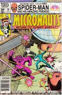 The Micronauts Vol. 1 No. 36 December 1981 Death-Duel In A Grade School! - Marvel
