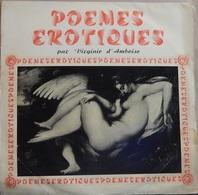 """Virginie D'amboise 33t. LP """"poemes érotiques"""" - Vinyl Records"""