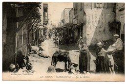 Maroc / MARRAKECH -- Rue Du Mellah. - Marrakech
