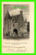 DEUX-SÈVRES - CHATEAU DE LA ROCHEJAQUELEIN, LOGIS DU MOYEN ÂGE - SIGNATURE DU PROPRIÉTAIRE - CIRCULÉE - - France