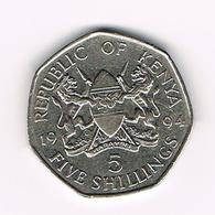 &-   KENYA  5 SHILLINGS   1994 - Kenya
