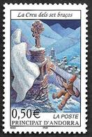 ANDORRE  2002 -  YT 561 - La Creu - NEUF** - Cote 2.10e - Andorre Français