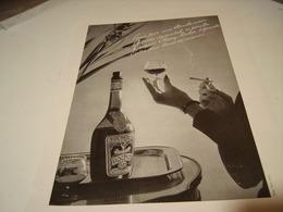 ANCIENNE PUBLICITE CHERRY ROCHER DIGESTIF 1952 - Alcoholes