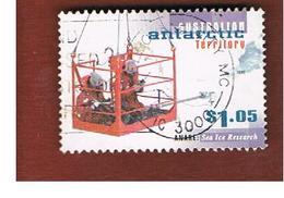 AAT AUSTRALIAN ANTARCTIC TERRITORY - SG 120  - 1997   ANARE: SEA ICE RESEARCH          -  USED - Territorio Antartico Australiano (AAT)