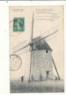 GASCOGNE GERS MOULIN A VENT CPA BON ETAT - Windmills