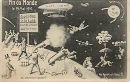 - Themes -ref.A853 - Astronomie - Fin Du Monde - Expedition A La Une - Anticipation - Humour - Dirigeable - - Astronomie