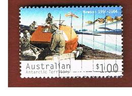 AAT AUSTRALIAN ANTARCTIC TERRITORY - SG 166  - 2004  ACCOMODATION CARAVAN       -  USED - Territorio Antartico Australiano (AAT)