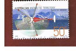 AAT AUSTRALIAN ANTARCTIC TERRITORY - SG 168  - 2005 AIRPLANES: HUGHES 500 HELICOPTER      -  USED - Territorio Antartico Australiano (AAT)