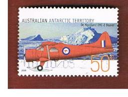 AAT AUSTRALIAN ANTARCTIC TERRITORY - SG 169  - 2005 AIRPLANES: DE HAVILLAND DHC 2 BEAVER     -  USED - Territorio Antartico Australiano (AAT)