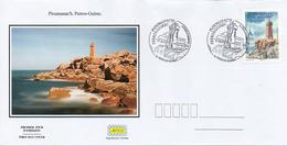 France  2018 FDC : Ploumanac'h - Perros-Guirec - Côtes - D'Armor. Obliteration 1er Jour 22/06/2018 Perros-Guirec. - 2010-....