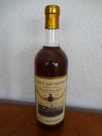1 Flasche 0,75 Liter HAUT SAUTERNES 1966 Rene Legat Bordeaux (Gironde), Abgefüllt Für Dorner-Cavas - Wine