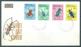 PAPUA NEW GUINEA - FDC  - 12.4.1967 - INSECT - Yv 110-113 -  Lot 17702 - Papua-Neuguinea