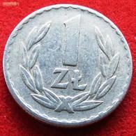 Poland 1 Zloty 1971 KM# 49  Polonia Polen - Pologne