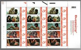 België/Belgique Duostamp 2007 Thorgal (Jean Van Hamme, Grzegorz Rosiński) - Volledige Vellen