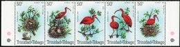 TRINIDAD & TOBAGO 1980 Birds Scarlet Ibis Fauna MNH - Trinidad & Tobago (1962-...)
