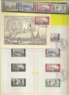BELG.1966 1385-88 Serie** Plus Serie Op NL Postfolder Met Eerstedag Stempel Plus Maxicard 1387 - 1961-70