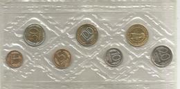 Russia, 1992, Serie Completa In Blister Di Zecca, 6 Monete Con Medaglia St. Petersburg. - Russia