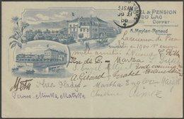 Hôtel & Pension Du Lac, Coppet, Vaud, 1900 - Muller & Trub U/B CPA - VD Vaud