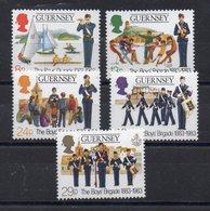 Ile De GUERNESEY  - Timbres Neufs ** De1983 ( Ref 5498 ) Boy's Brigade - Guernsey