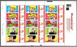 België/Belgique Duostamp 2010 Jommeke Gil (Nys) - Volledige Vellen